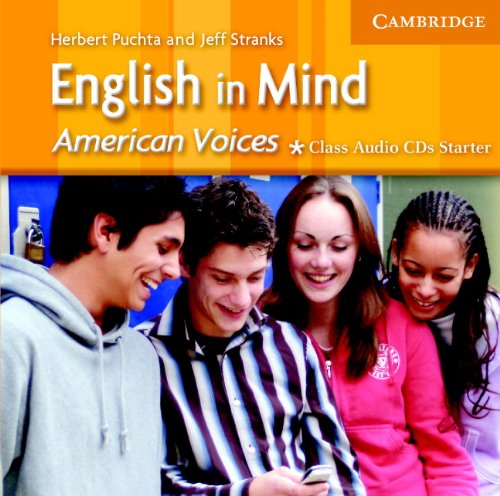 9780521676441: English in Mind Starter Class Audio CDs American Voices Edition