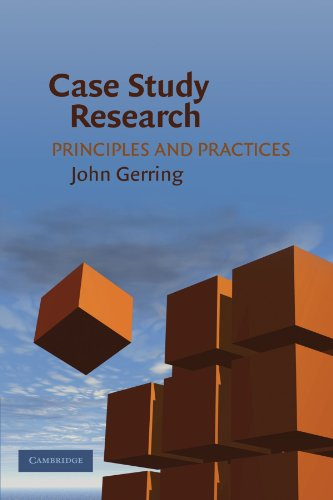 gerring j. what is a case study and what is it good for American political science review vol 98, no 2 may 2004 what is a case study and what is it good for john gerring boston university t.