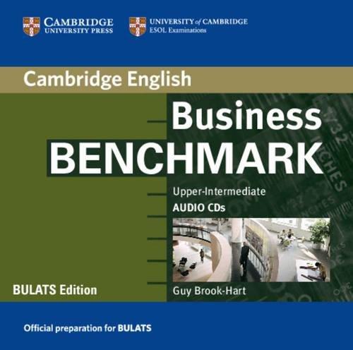 9780521676601: Business Benchmark Upper Intermediate Audio CD BULATS Edition
