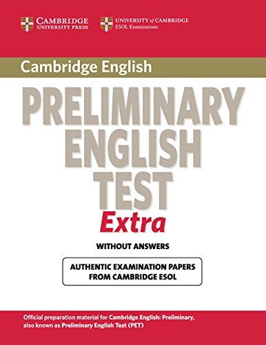 9780521676670: Cambridge exams extra Pet. Student's book. Per le Scuole superiori
