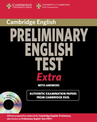 9780521676687: Cambridge Preliminary English Test Extra Student's Book with Answers and CD-ROM (PET Practice Tests)
