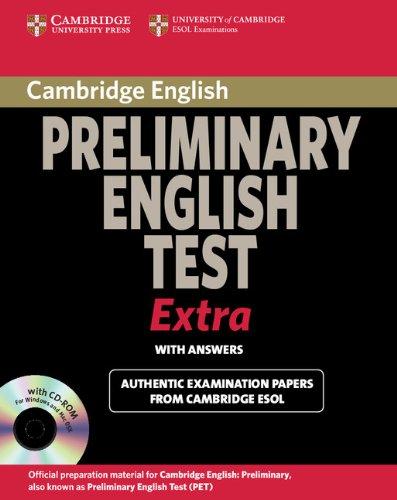 Cambridge Preliminary English Test Extra Students Book: Cambridge ESOL