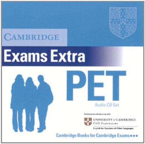 9780521676694: Cambridge Preliminary English Test Extra Audio CD Set (2 CDs) (PET Practice Tests)