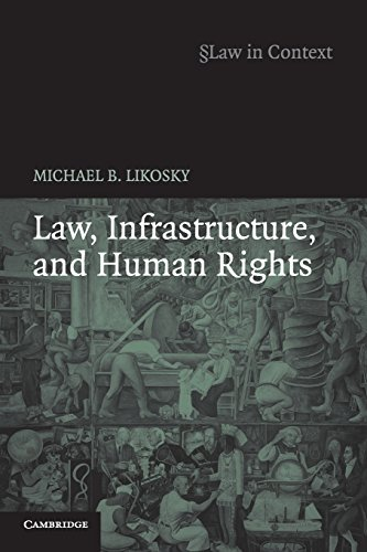 Law, Infrastructure and Human Rights.: Likosky, Michael B.
