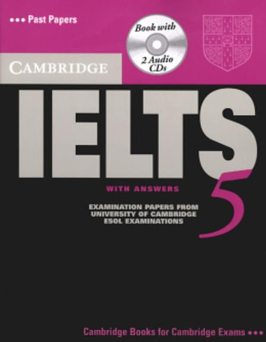 9780521677028: Cambridge IELTS 5 Self-study Pack (Student's Book with Answers and Audio CDs (2)) (IELTS Practice Tests)