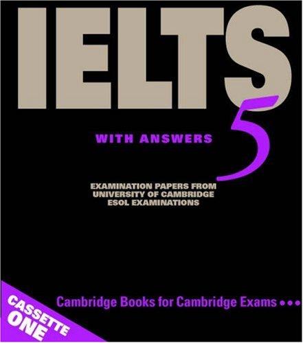 9780521677035: Cambridge IELTS 5 Audio Cassettes (IELTS Practice Tests)
