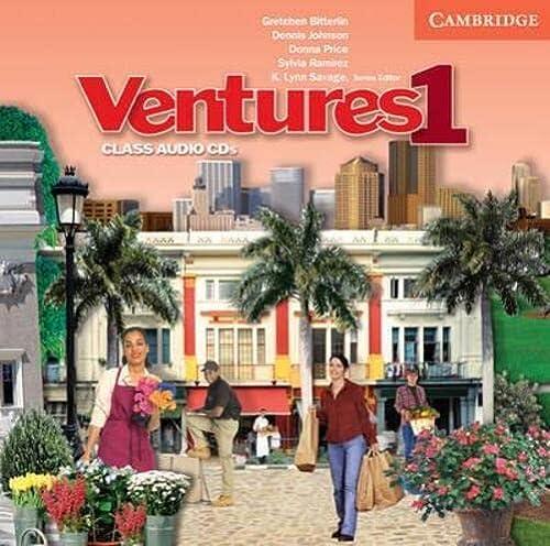 9780521677264: Ventures 1 Class Audio CDs