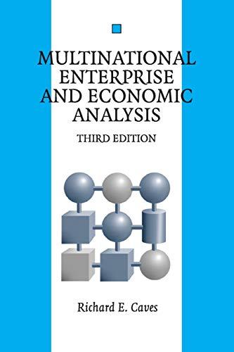 9780521677530: Multinational Enterprise and Economic Analysis 3rd Edition Paperback (Cambridge Surveys of Economic Literature)