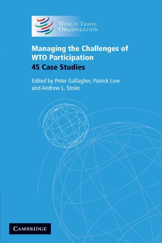 9780521677547: Managing the Challenges of WTO Participation: 45 Case Studies