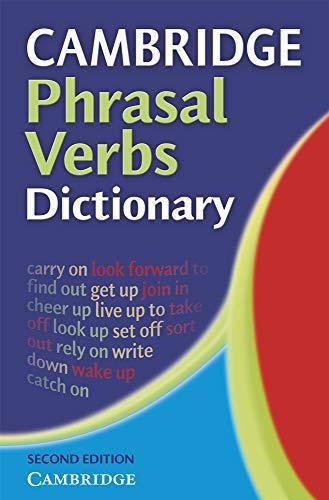 9780521677707: Cambridge Phrasal Verbs Dictionary 2nd Paperback