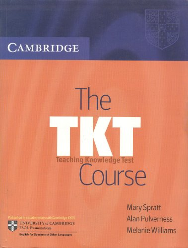 9780521677844: THE TKT COURSE : TEACHING KNOWLEDGE TEST