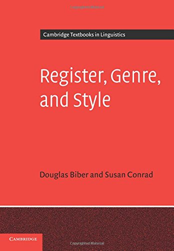 9780521677899: Register, Genre, and Style (Cambridge Textbooks in Linguistics)