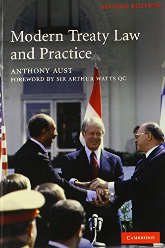 9780521678063: Modern Treaty Law and Practice