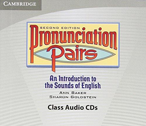 9780521678117: Pronunciation Pairs Audio CDs