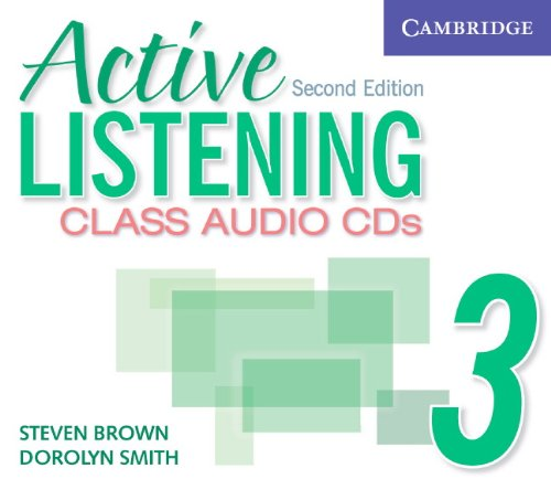 9780521678230: Active Listening 3 Class Audio CDs