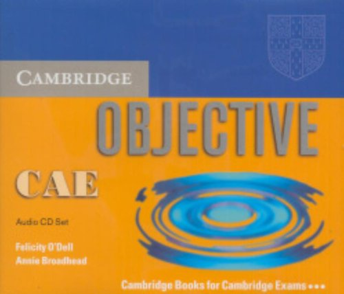9780521678827: Objective CAE Audio CD Set (3 CDs)