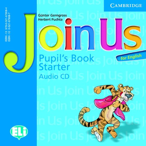9780521679084: Join Us for English Starter Pupil's Book Audio CD (Join in)