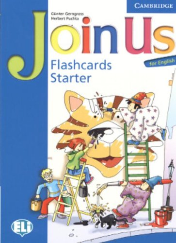 9780521679114: Join Us for English Starter Flashcards