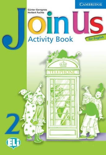 9780521679268: Join Us for English 2 Activity Book