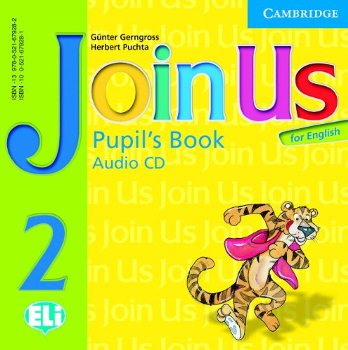 9780521679282: Join Us for English 2 Pupil's Book Audio CD: Level 2 (Join in)