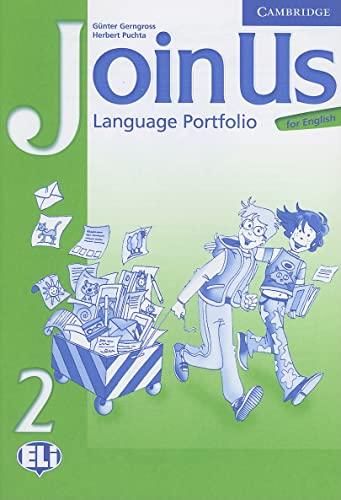 9780521679336: Join Us for English 2 Language Portfolio