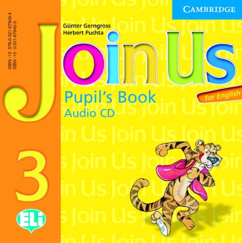 9780521679404: Join Us for English 3 Pupil's Book Audio CD