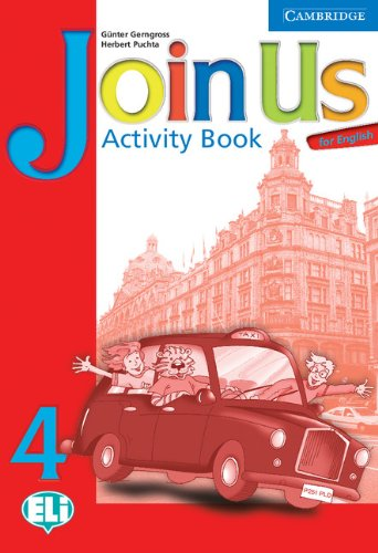 9780521679480: Join Us for English 4 Activity Book
