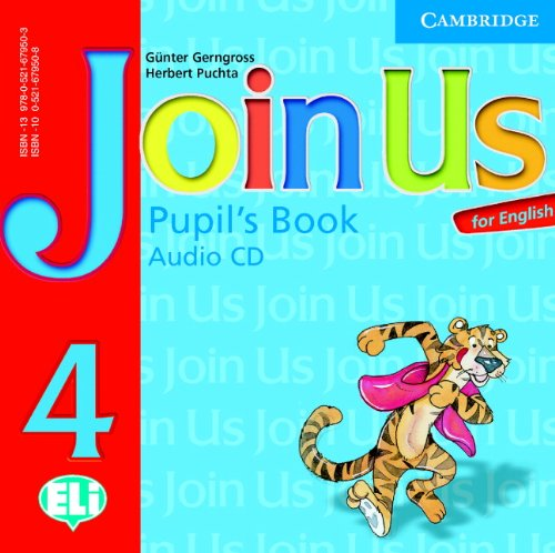 9780521679503: Join Us for English 4 Pupil's Book Audio CD: Level 4 (Join in)