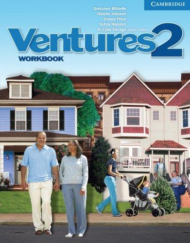Ventures Level 2 Workbook: Bitterlin, Gretchen; Johnson,