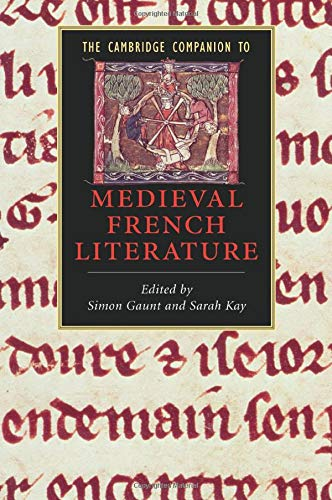 9780521679756: The Cambridge Companion to Medieval French Literature (Cambridge Companions to Literature)