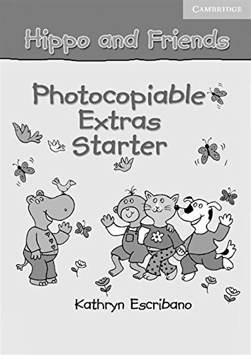 9780521680097: Hippo and Friends Starter Photocopiable Extras