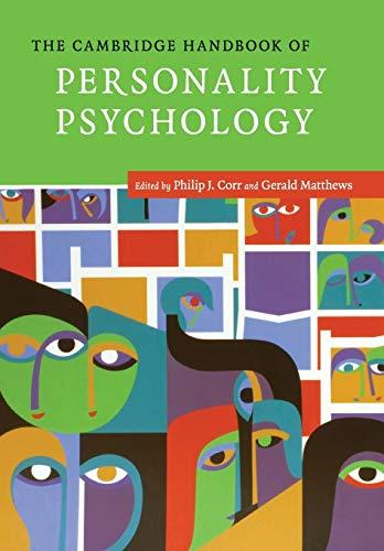 9780521680516: The Cambridge Handbook of Personality Psychology (Cambridge Handbooks in Psychology)