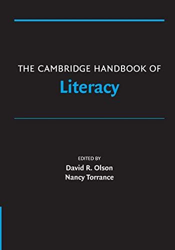 9780521680523: The Cambridge Handbook of Literacy (Cambridge Handbooks in Psychology)