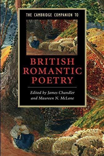 9780521680837: The Cambridge Companion to British Romantic Poetry (Cambridge Companions to Literature)