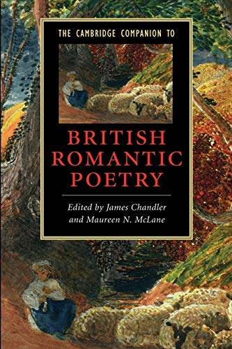 9780521680837: The Cambridge Companion to British Romantic Poetry (Cambridge Companions to Literature)