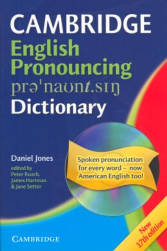 9780521680875: English Pronouncing Dictionary with CD-ROM