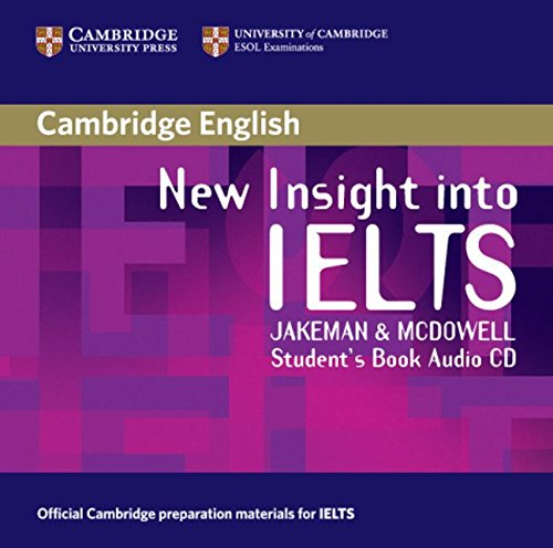 9780521680929: New Insight into IELTS Student's Book Audio CD