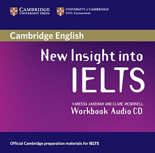 9780521680943: New Insight into IELTS Workbook Audio CD