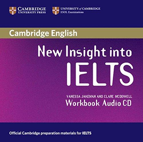 9780521680943: New Insight into IELTS Workbook Audio CD
