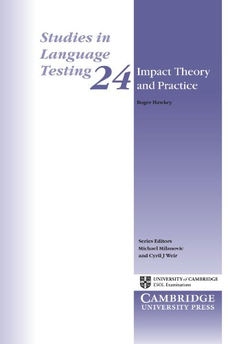 9780521680974: Impact Theory and Practice (Studies in Language Testing)