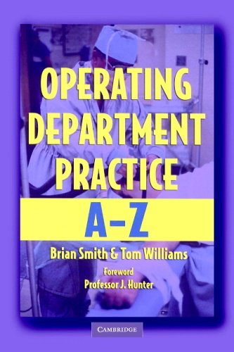 9780521681025: Operating Department Practice A-Z
