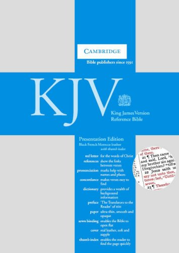 9780521681339: KJV Presentation Reference Edition RCD283IX Black French Morocco Leather Indexed