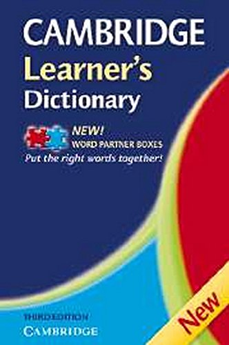 9780521681964: Cambridge Learner's Dictionary 3rd Paperback