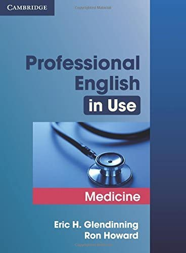 9780521682015: Professional English in Use Medicine