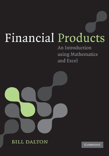 9780521682220: Financial Products Paperback