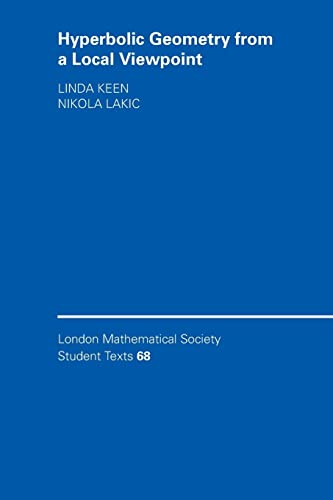9780521682244: Hyperbolic Geometry from a Local Viewpoint (London Mathematical Society Student Texts)