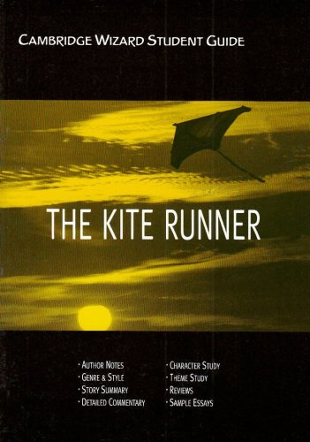 Cambridge Wizard Student Guide The Kite Runner: Sue Sherman