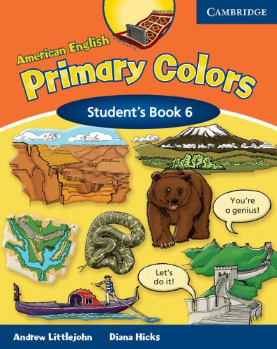 9780521682657: American English Primary Colors 6 Student's Book