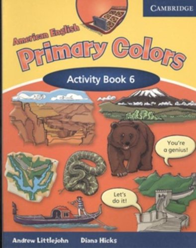 9780521682664: American English Primary Colors 6 Activity Book ...