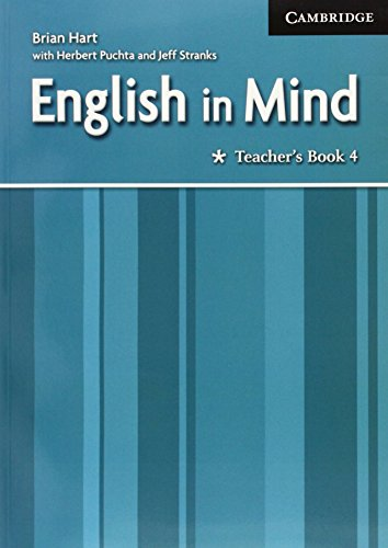 9780521682701: English in Mind 4 Teacher's Book: Level 4